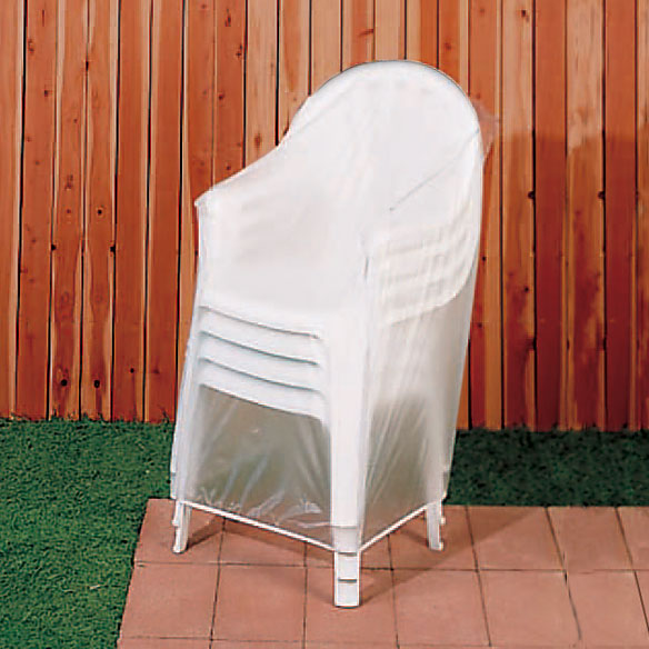 Vinyl Outdoor Chair Cover Zoom