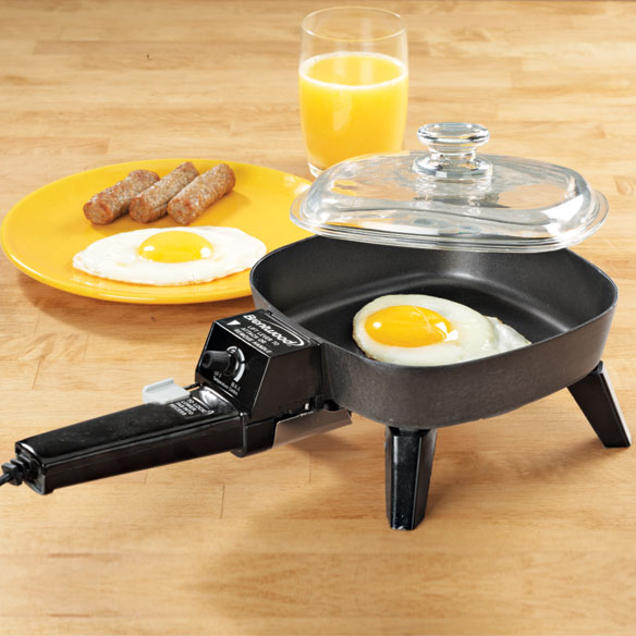 Electric Frying Pan ~ Inch electric skillet compact