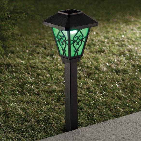color changing solar light solar color changing light walter drake. Black Bedroom Furniture Sets. Home Design Ideas