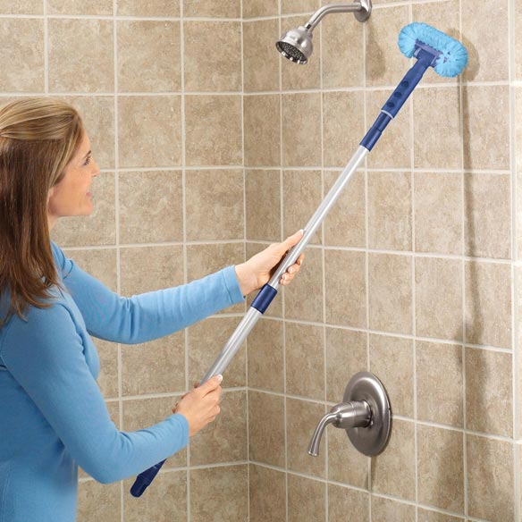 Tile floor cleaners scrubbers