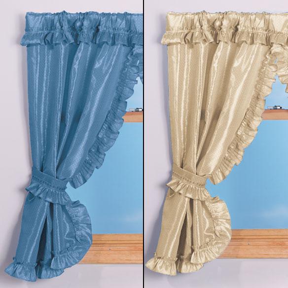 70 Quot W X 45 Quot H Bathroom Window Curtains Bathroom Curtains