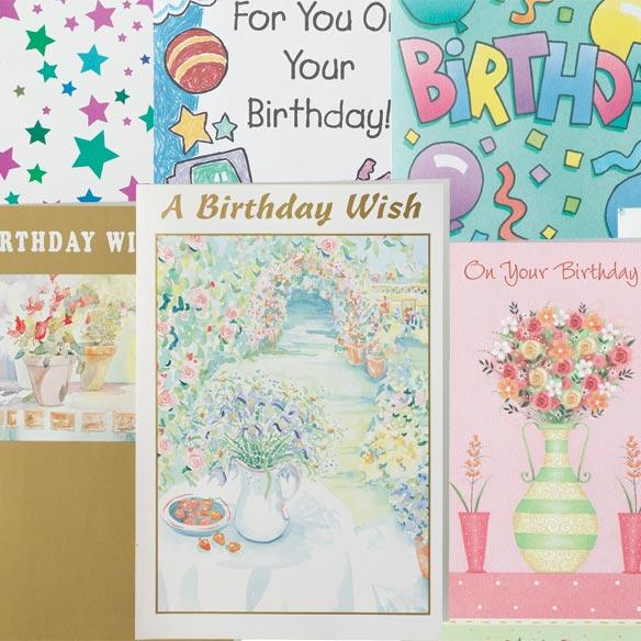 Bulk Assorted Birthday Cards