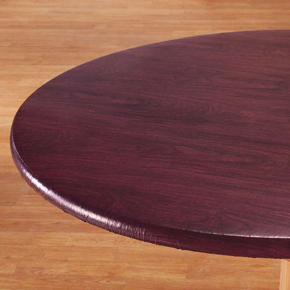 Wood Grain Fitted Table Cover Wood Grain Table Cloth