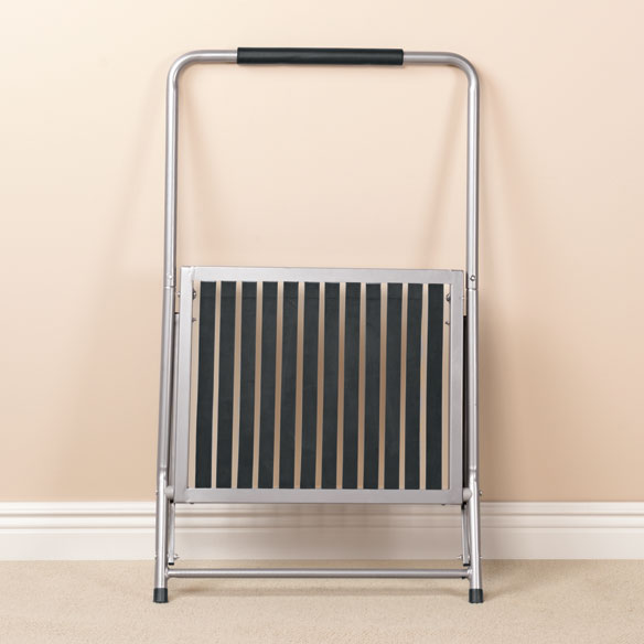 Extra Wide Folding Step Stool With Handle Walter Drake