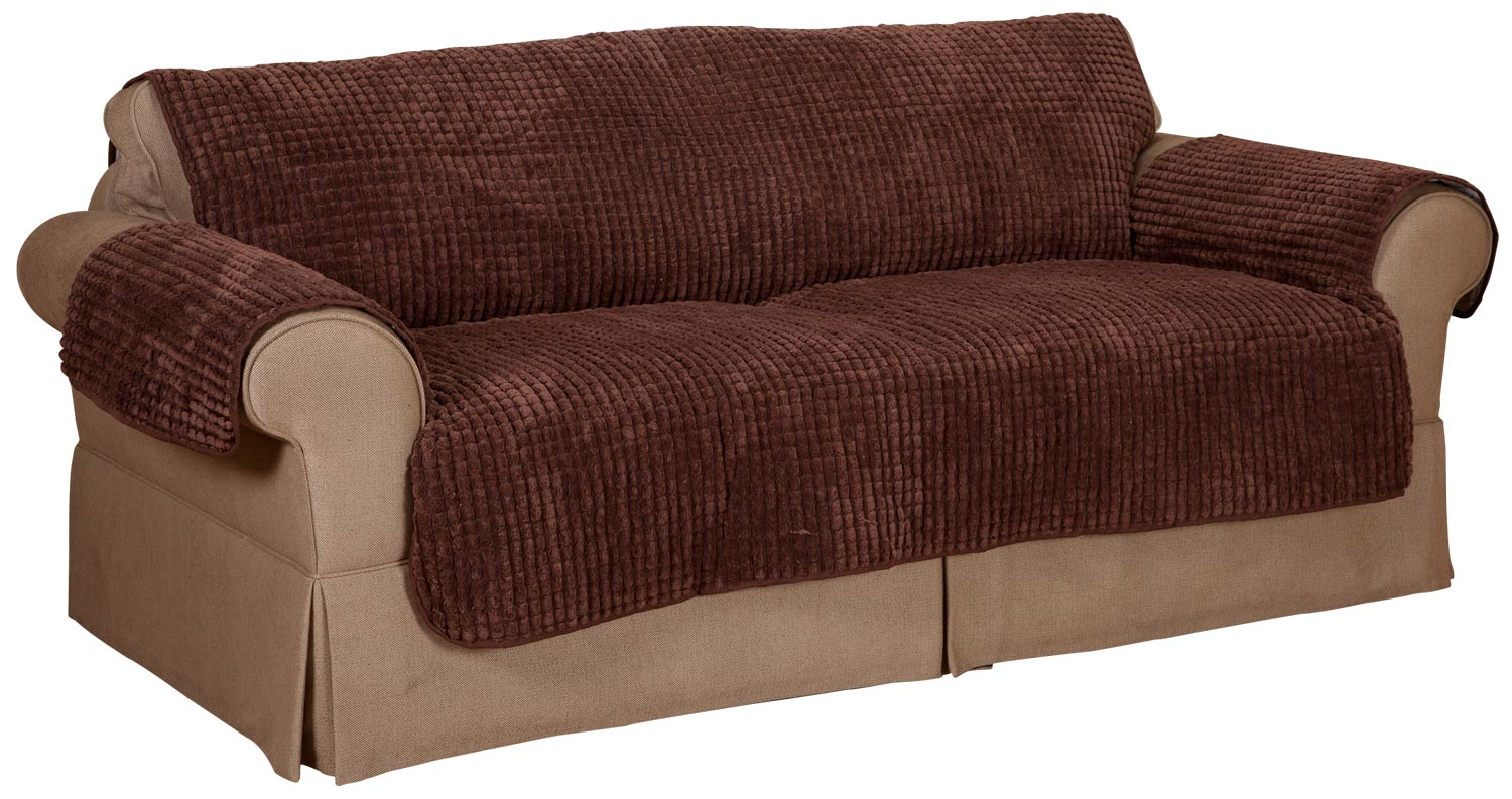 Chenille sofa furniture protector ebay Chenille sofa and loveseat