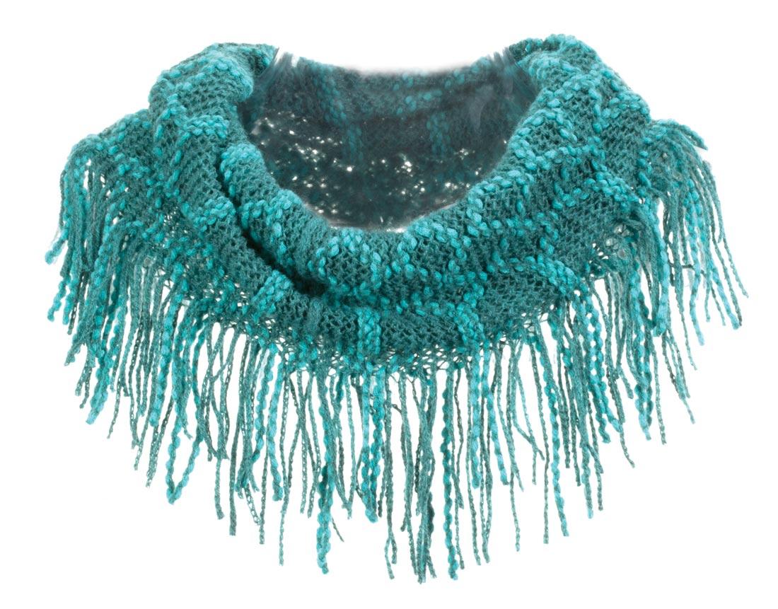 Knitting Pattern Scarf With Fringe : Fringe Knit Scarf eBay