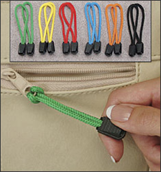 Zipper Pulls - Set Of 12