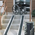 Mobility, Braces & Footcare - Telescoping Wheelchair Ramp