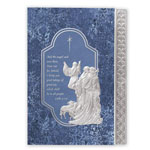 Christmas Cards - Silver Nativity Christmas Card Set/20