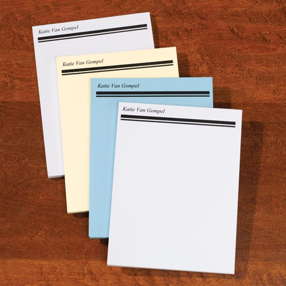 Personalized Memo Pads Set of 4