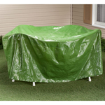 "Cold Weather Prep - Round Patio Table Cover - 30""H x 84"" Dia."