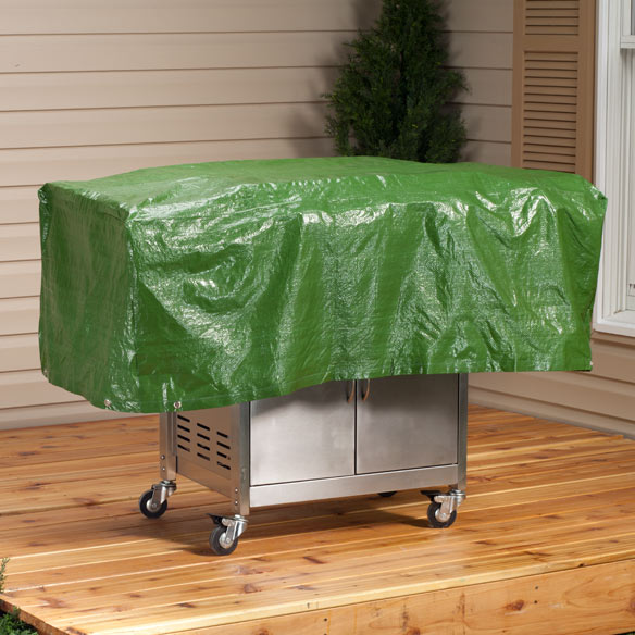 Barbecue Grill Cover - View 1