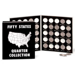 Gifts Under $10 - Commemorative State Quarters Album