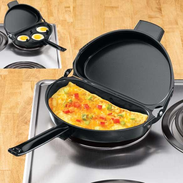Omelet Pan Non Stick Omelette Pan Folding Omelet Pan