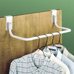 Small Space Solutions - Over The Door Clothes Rod