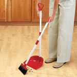 Holiday Helpers for the Home - Long Handled Dust Pan With Broom