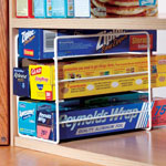 Small Space Solutions - Kitchen Wrap Organizer & Freezer Organizer