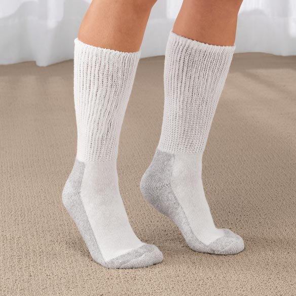 Women's Diabetic Socks - 2 Pairs