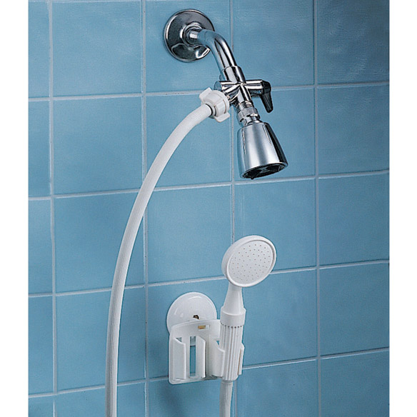 hand held shower head for bathtub faucet. Detachable Hand Held Shower Sprayer  View 1 Walter Drake