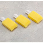 Mobility, Braces & Footcare - Long Handled Foot Brush Refills - Set Of 3