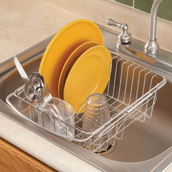 Marvelous Over The Sink Dish Drainer Rack   Zoom