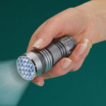 Safe Holiday Travel - LED Flashlight