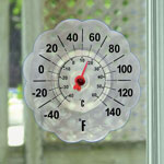 Outdoor Décor - Suction Cup Window Thermometer