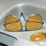 Safe Summer Travel - Night Driving Aviator Glasses