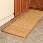 "Decorations & Accents - Bamboo Floor Mat - 24"" x 72"""