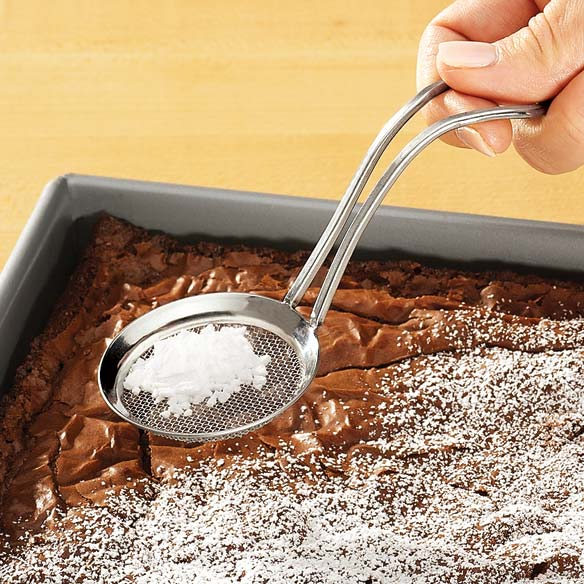 Powdered Sugar Sifter Spoon