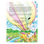 New - Personalized Easter Letter
