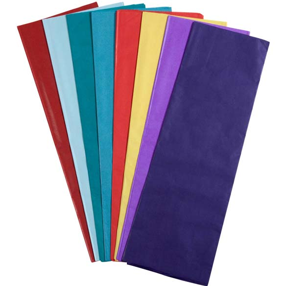 Color Tissue Paper - 24 Sheets