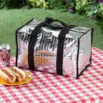 Summer BBQ - Insulated Tote Bag - Large