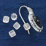 Beauty $9.99 and Under - Rubber Earring Backs - Set of 12