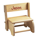 Accent Furniture - Wooden Personalized Children's Chair
