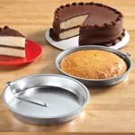 Thanksgiving Cooking Helpers - Easy Release Cake Pans - Set Of 2