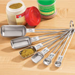 Thanksgiving Cooking Helpers - Spice Measuring Spoons