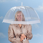 Outdoor - Clear Dome Umbrella