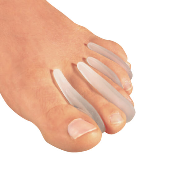 Healthy Steps™ Gel Toe Separators, Set Of 8