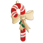 Decorations & Storage - Candy Cane Christmas Ornament