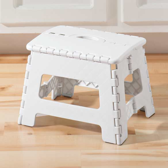 Folding Step Stool - View 1 ... & Folding Step Stool - Foldable Step Stool - Maintenance - Walter Drake islam-shia.org
