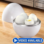 Dorm Deals - Microwave Egg Boiler