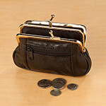 Handbags & Wallets - Coin Purse Clutch