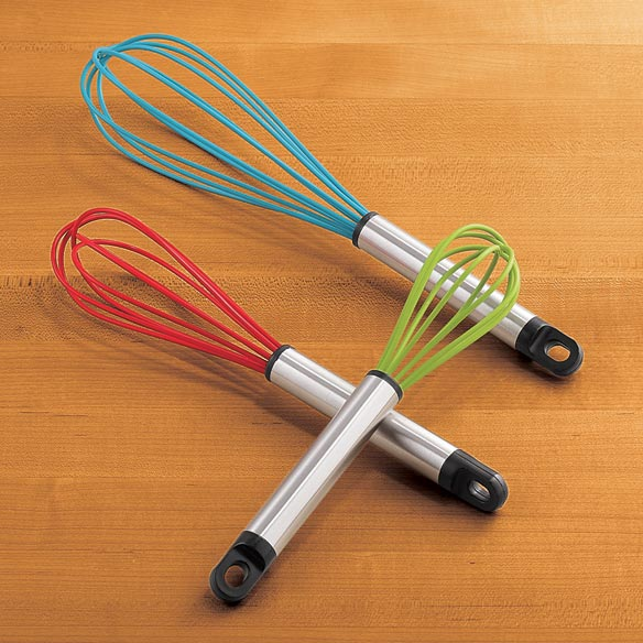 Silicone Whisk Set - Set Of 3