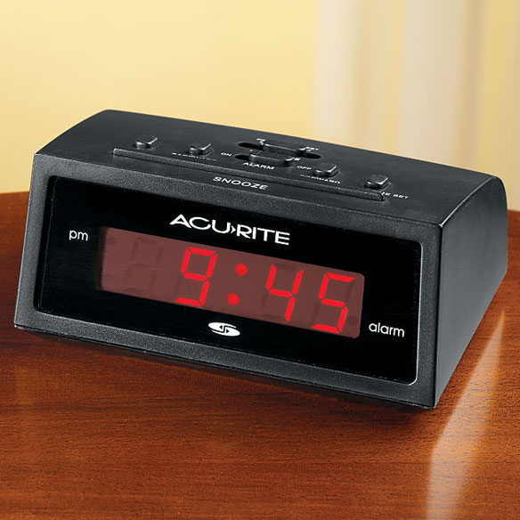 Self Setting Alarm Clock