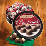 Gifts for Him - Chocolate Peanut Butter Buckeyes