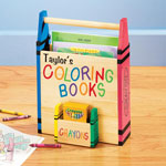 Toys & Games - Personalized Coloring Book Holder