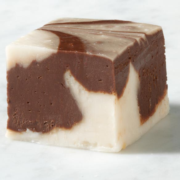 Sugar Free Chocolate Swirl Fudge