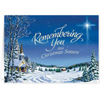 Christmas Cards - Personalized Remembering You Christmas Card Set of 20