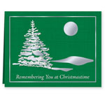 Labels & Stationery Sale - Remembering You Personalized Christmas Cards - Set of 20